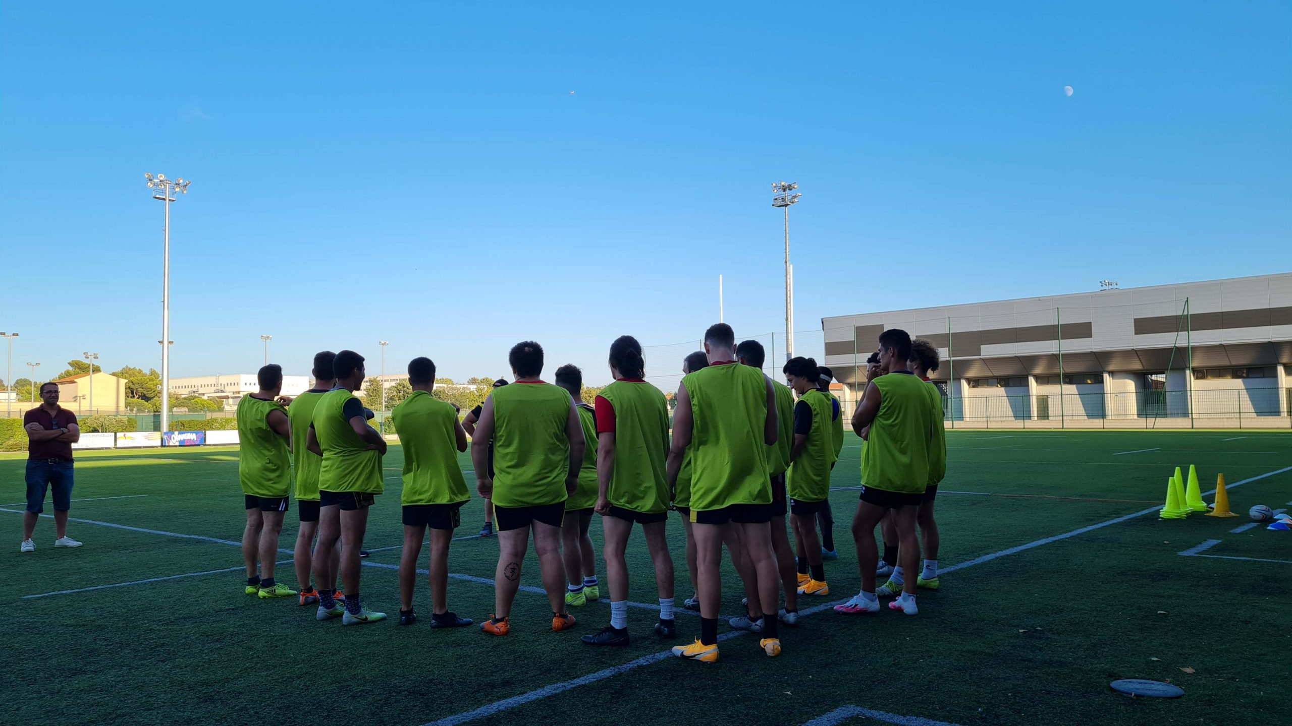 Read more about the article Retour en image : reprise des entrainements pour l'équipe Elite 2