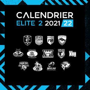 Read more about the article Calendrier Elite 2, Saison 2021/2022